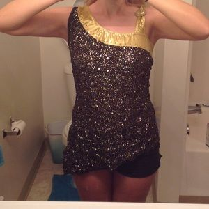 Other - Gold and black dance costume